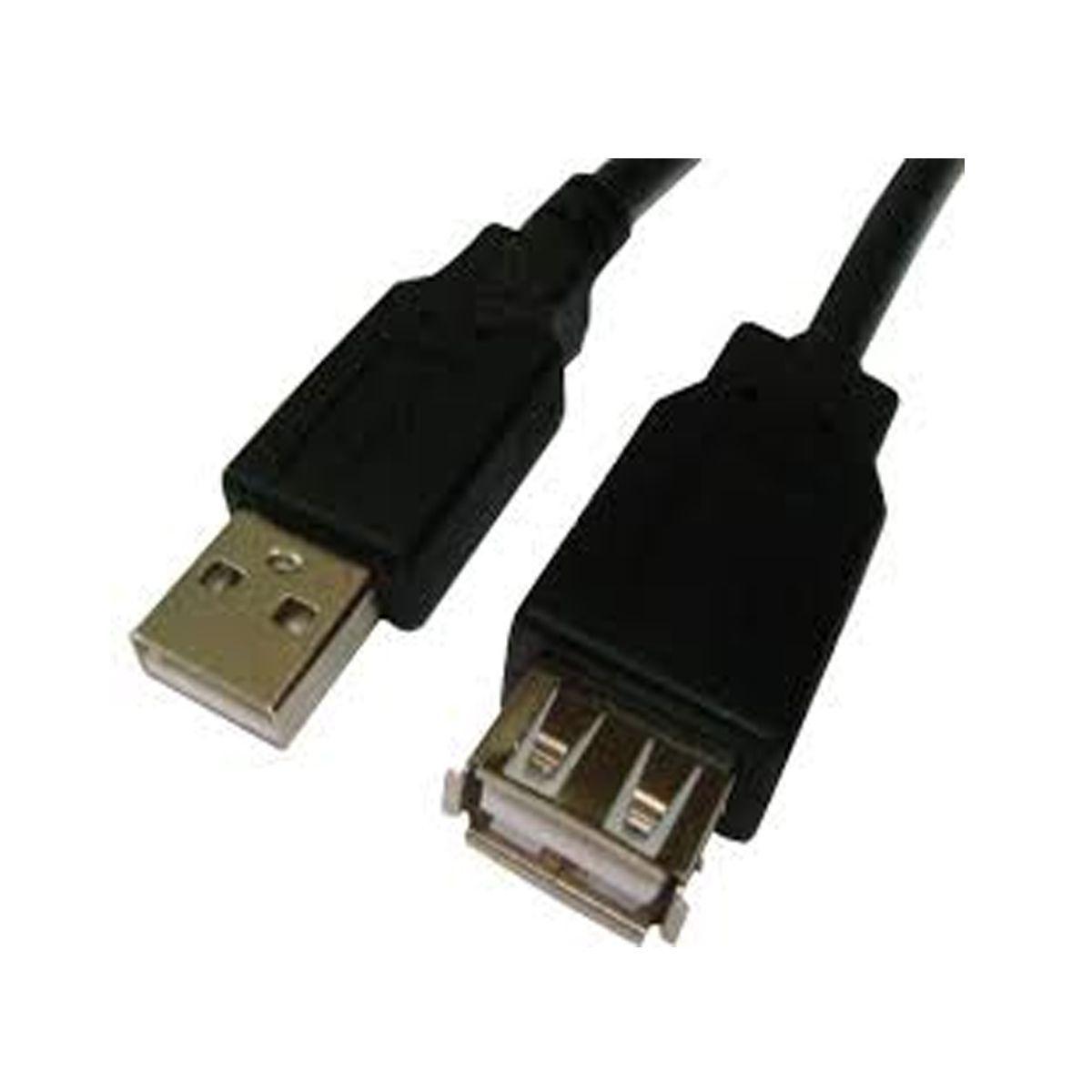 Cabo Extensor USB - 1,80MTS