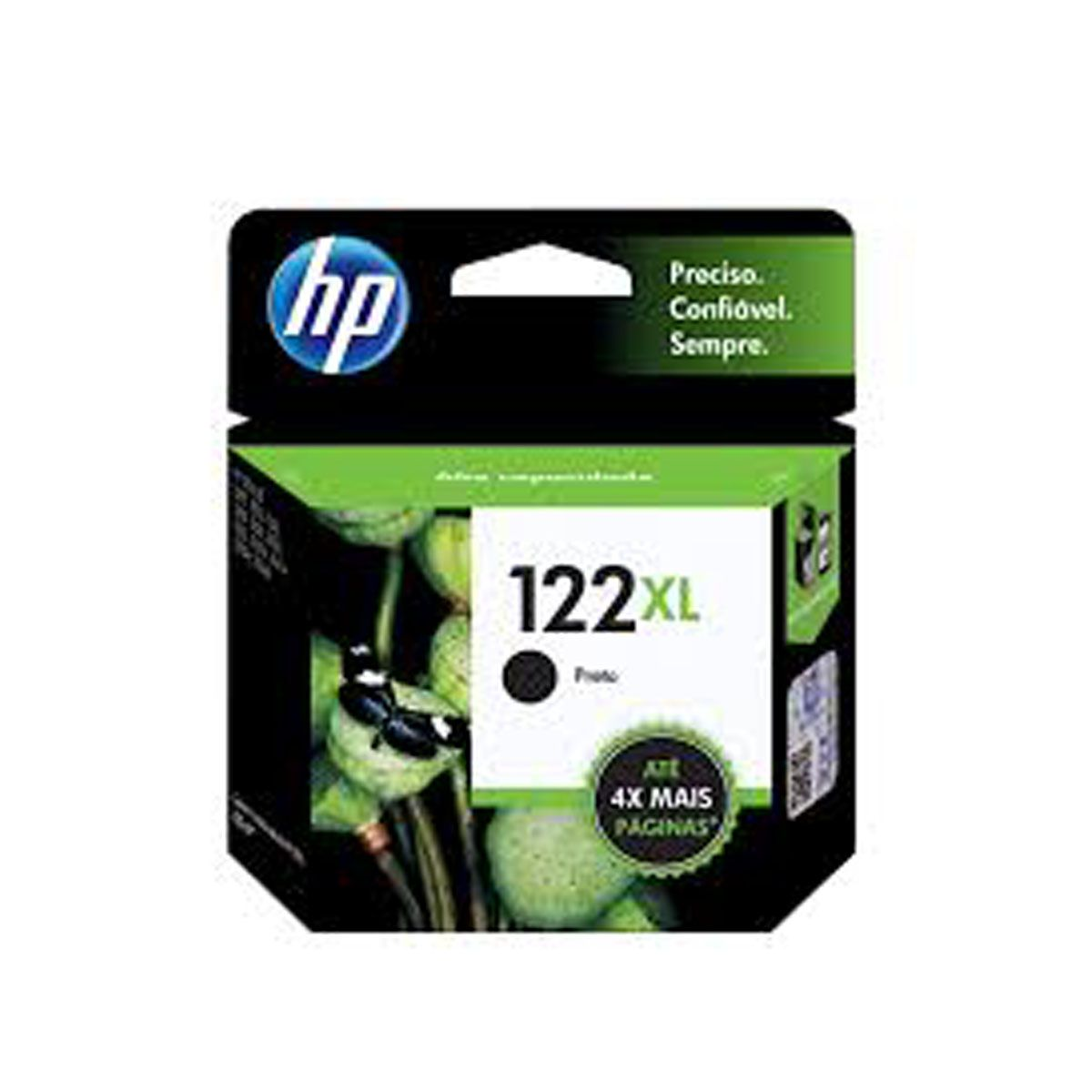 Cartucho HP 122XL Preto CH563HB - 8,8ML