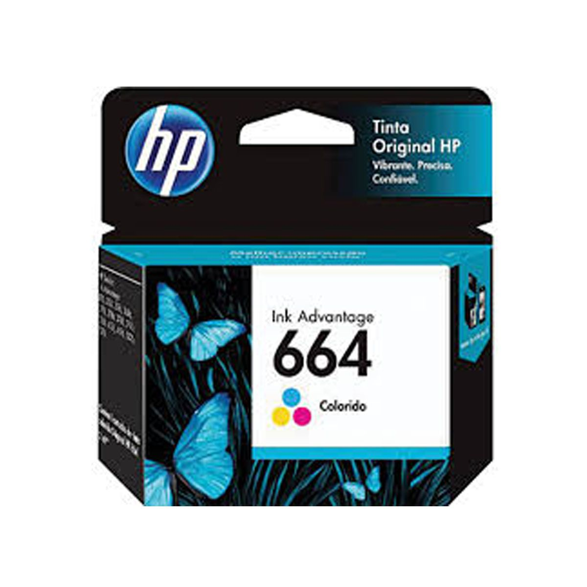 Cartucho HP 664 Colorido F6V28AB - 2,0ML
