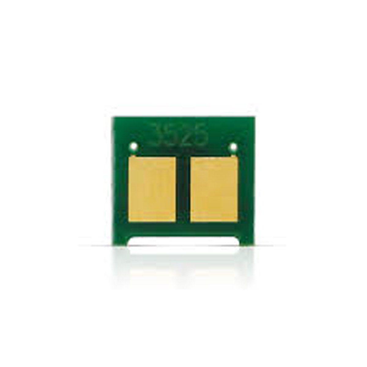 Chip HP CE252A CE252 CE-252 252A 252 - 504A - Amarelo - CM3530 CP-3525N - 2,5K