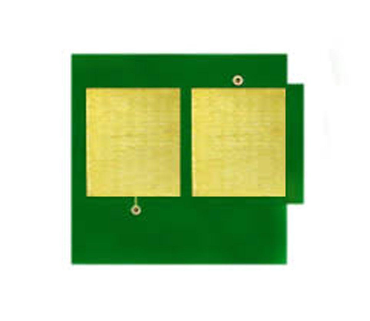 Chip HP Q6002A 6002A - 124A - 2600 2605DN CM1015 CM1017 - Amarelo - 2K