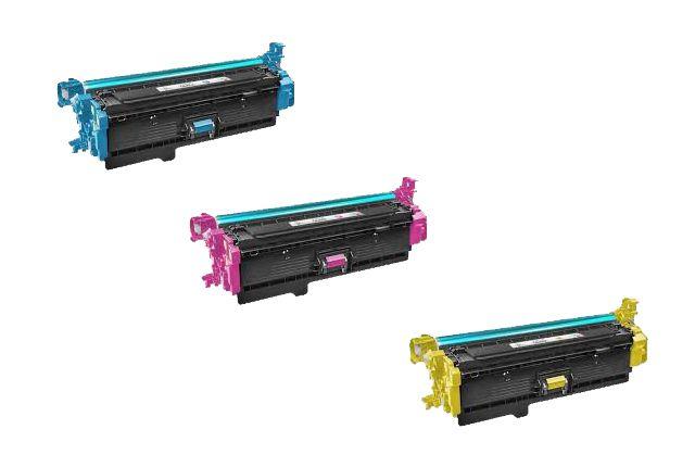 3 Toner CF401A CF402A CF403A - 201A