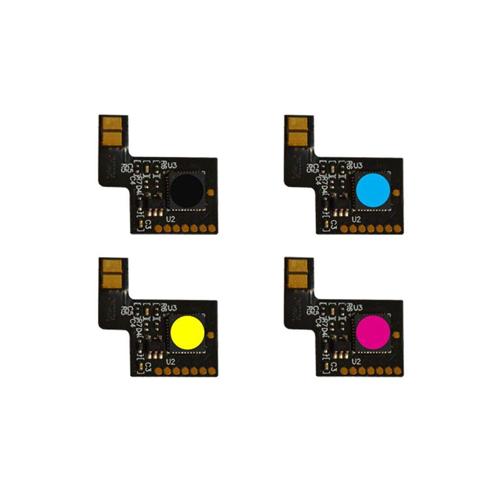 KIT 4 Chip HP CF400A CF401A CF402A CF403A 201A - M252dw M277dw -