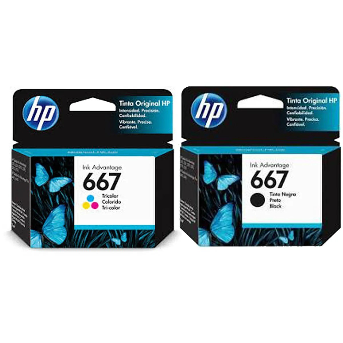 Kit Cartuchos HP 667