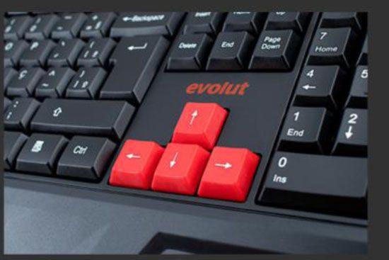 Teclado Gamer EG-202 Evolut