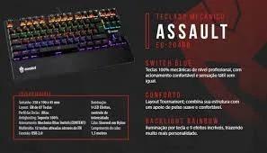 Teclado Mecanico Gamer EG-204 ASSAULT