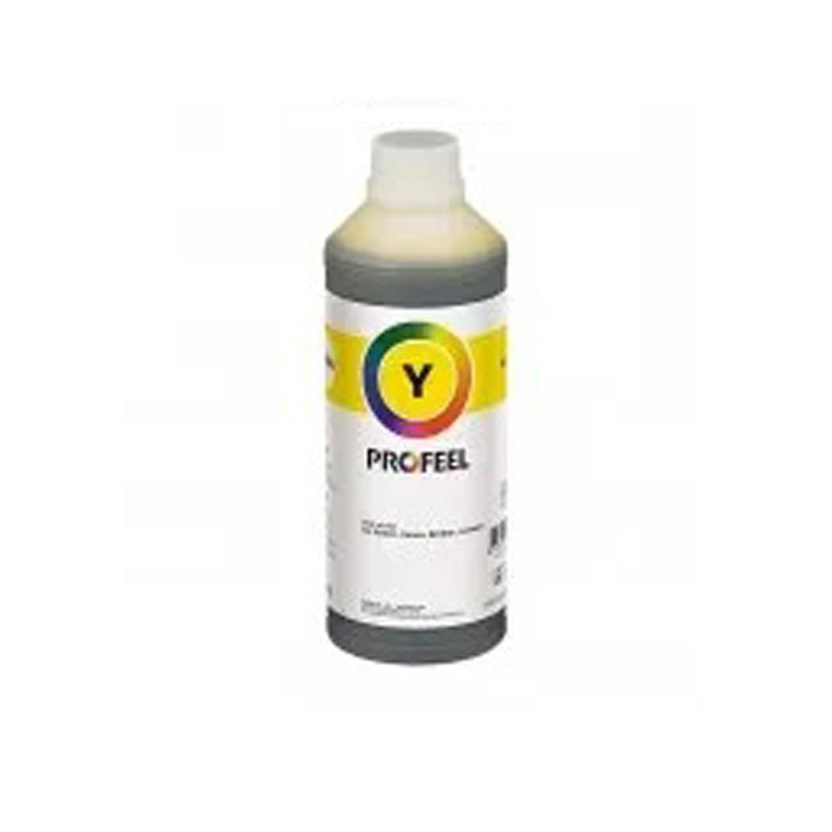 Tinta Cartuchos HP 3000 Amarelo Profeel - 1 Litro