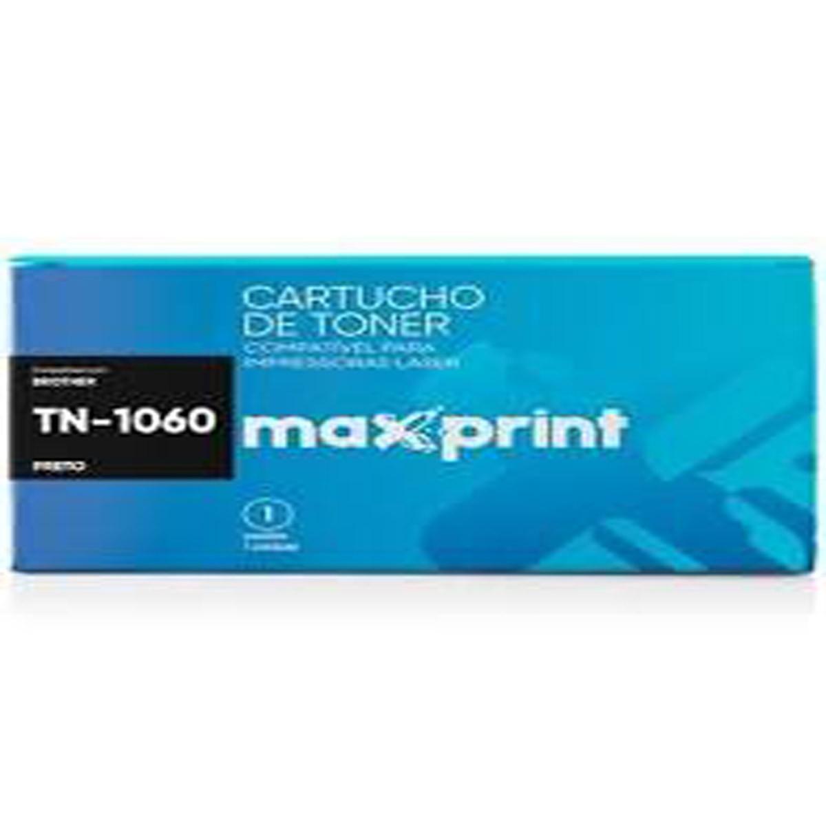 Toner Maxprint TN1000 TN1060 - HL 1202 DCP 1212 1512 1602 1617
