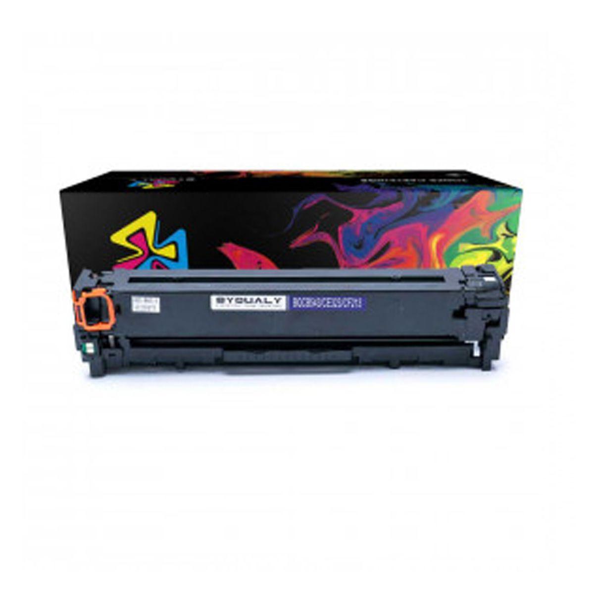 Toner Compativel com HP CB543A CB543 543 - 125A - Magenta - CP1215 CP1510 CP1515 CP1518 CM1312 - 1,4K