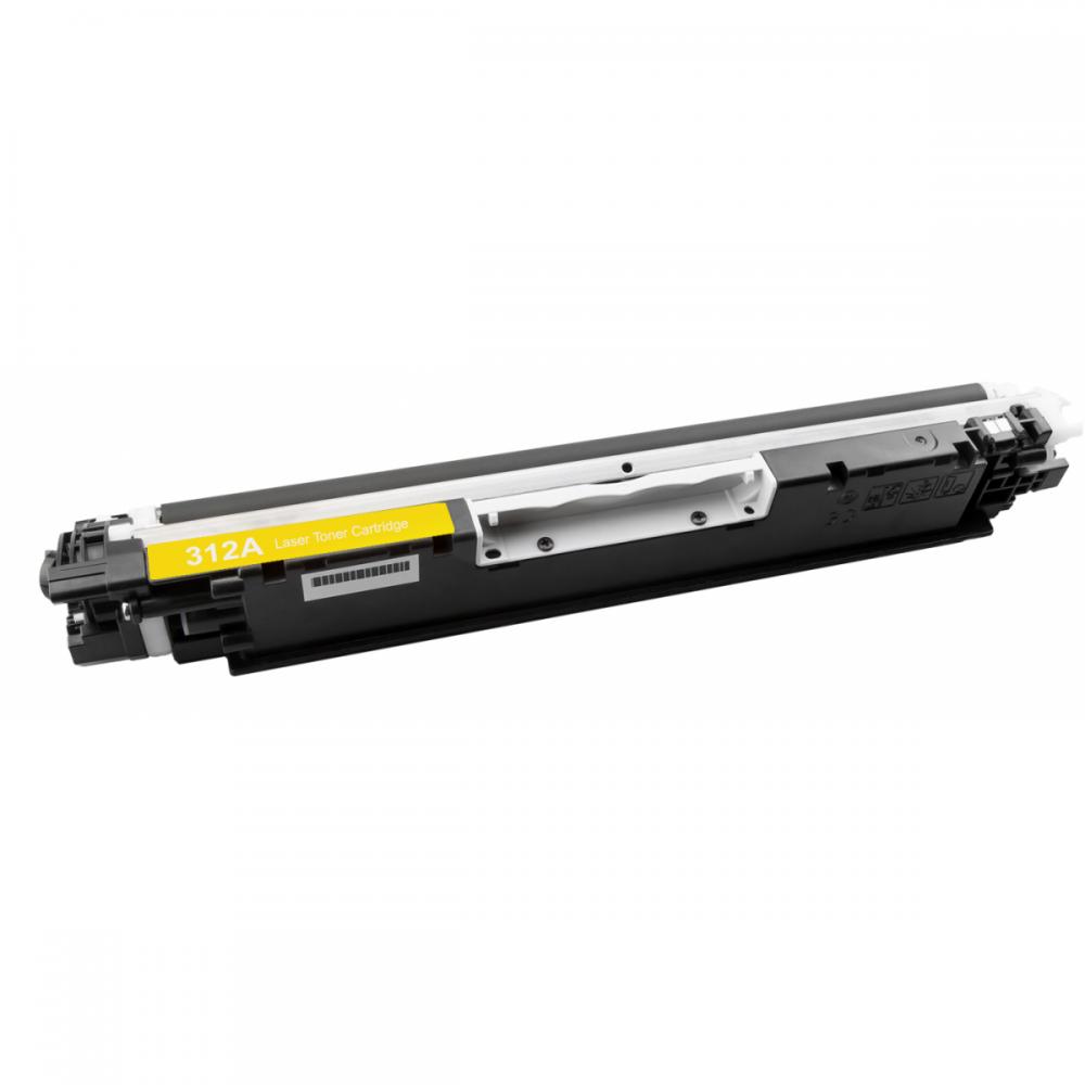Toner CE312A CE312 312A 312 126A Amarelo CP1020 CP1025 M175 M175A - 1K
