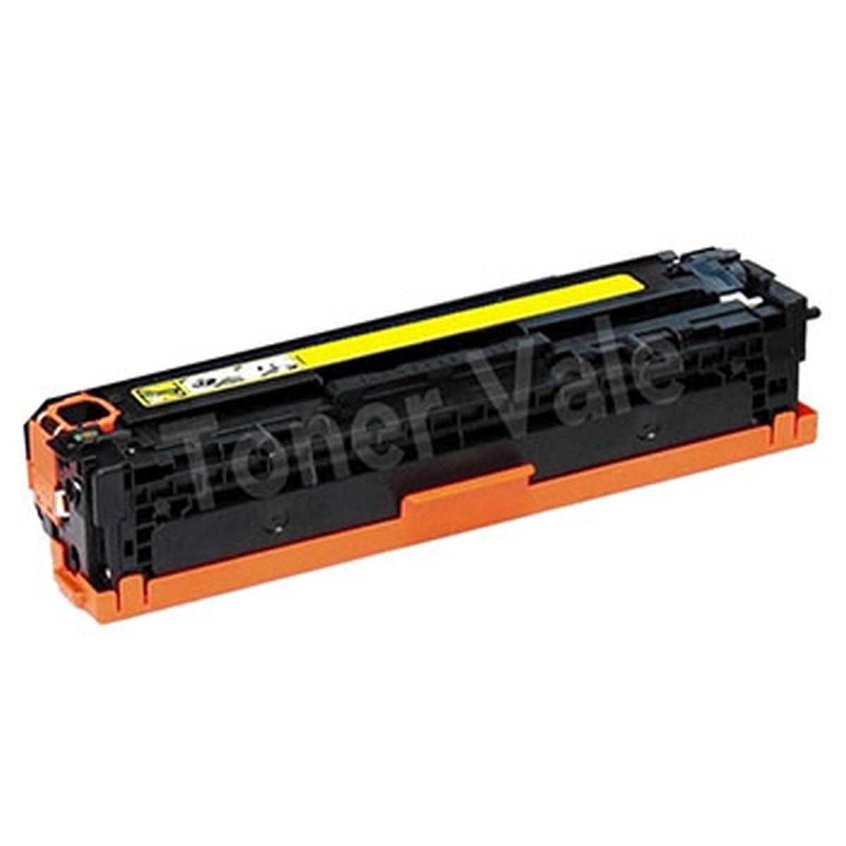 Toner CE322A CE322 322A 322 128A Amarelo - CM1415 CM1415FN CP1525 1,4K