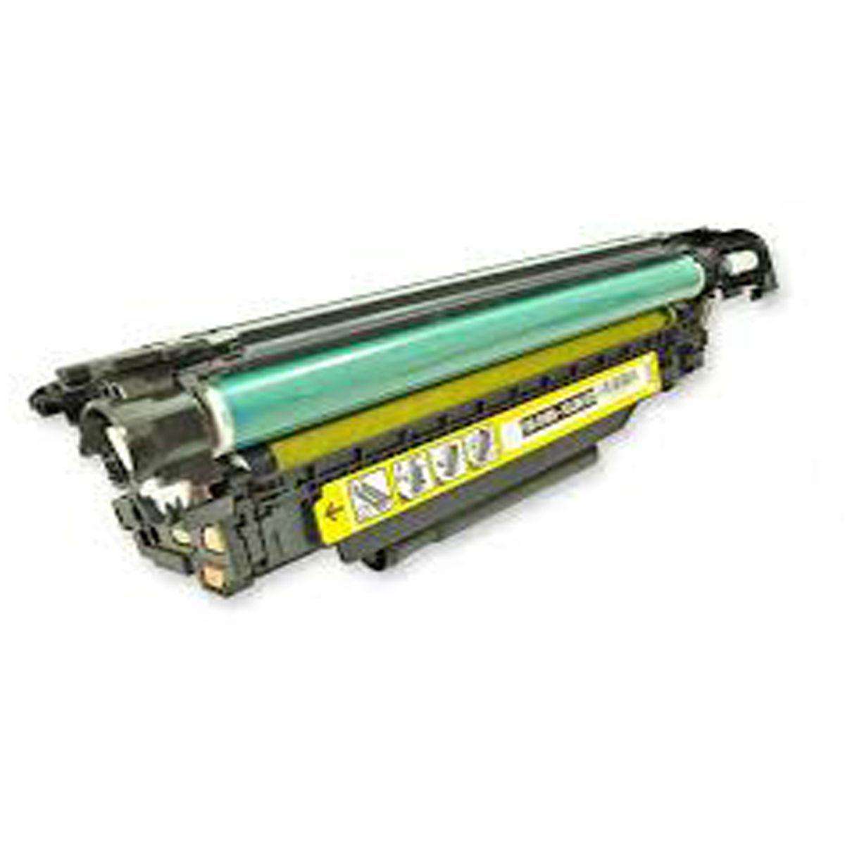 Toner CE402A CE402A 507A - Amarelo - CP-4005 M575 M551DN M570 - 5K