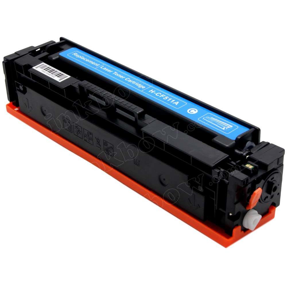 Toner Compativel com HP CF511A CF511 511A 204A Ciano - M180NW M180 - 0.9k