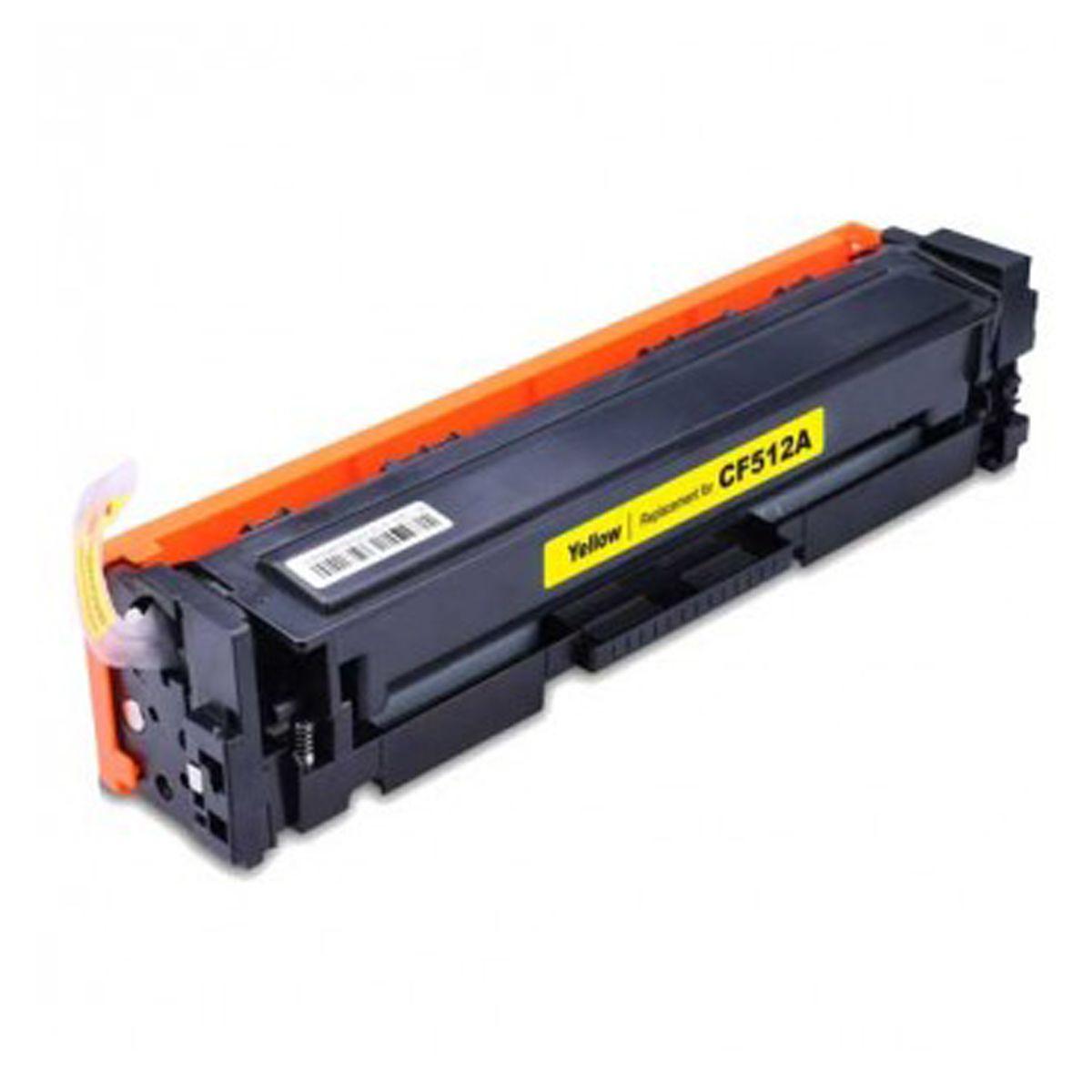 Toner Compativel com HP CF512A CF512 512A 204A Amarelo - M180NW M180 - 0.9k