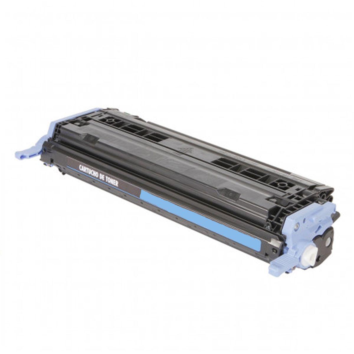 Toner Compativel com HP Q6001A 6001 - 2600N 2600 2605 CM1015 CM1017 - Ciano 2K