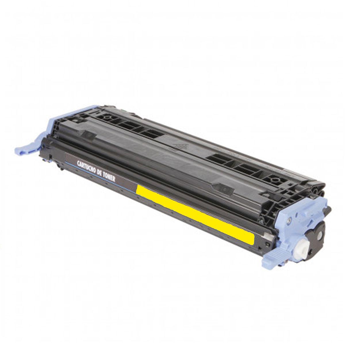 Toner Compativel com HP Q6002A 6002 - 2600N 2600 2605 CM1015 CM1017 - Amarelo 2K