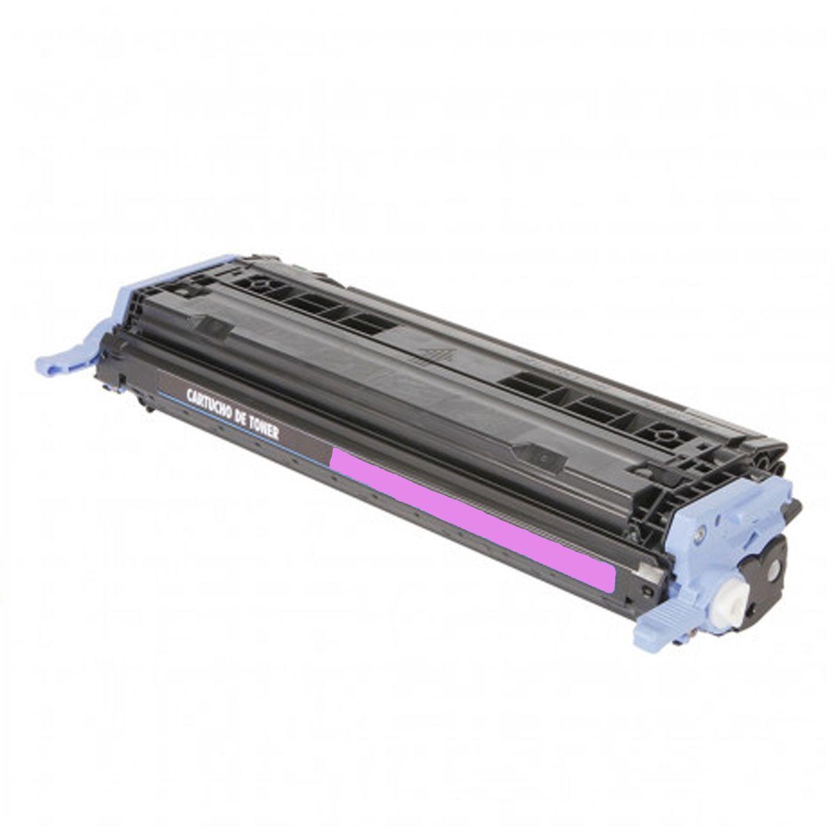 Toner Compativel com HP Q6003A 6003 - 2600N 2600 2605 CM1015 CM1017 - Magenta 2K