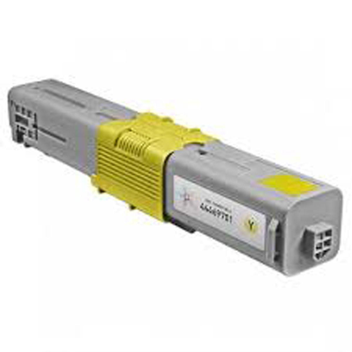 Toner OKIDATA C330 C530 MC361 Amarelo Compativel