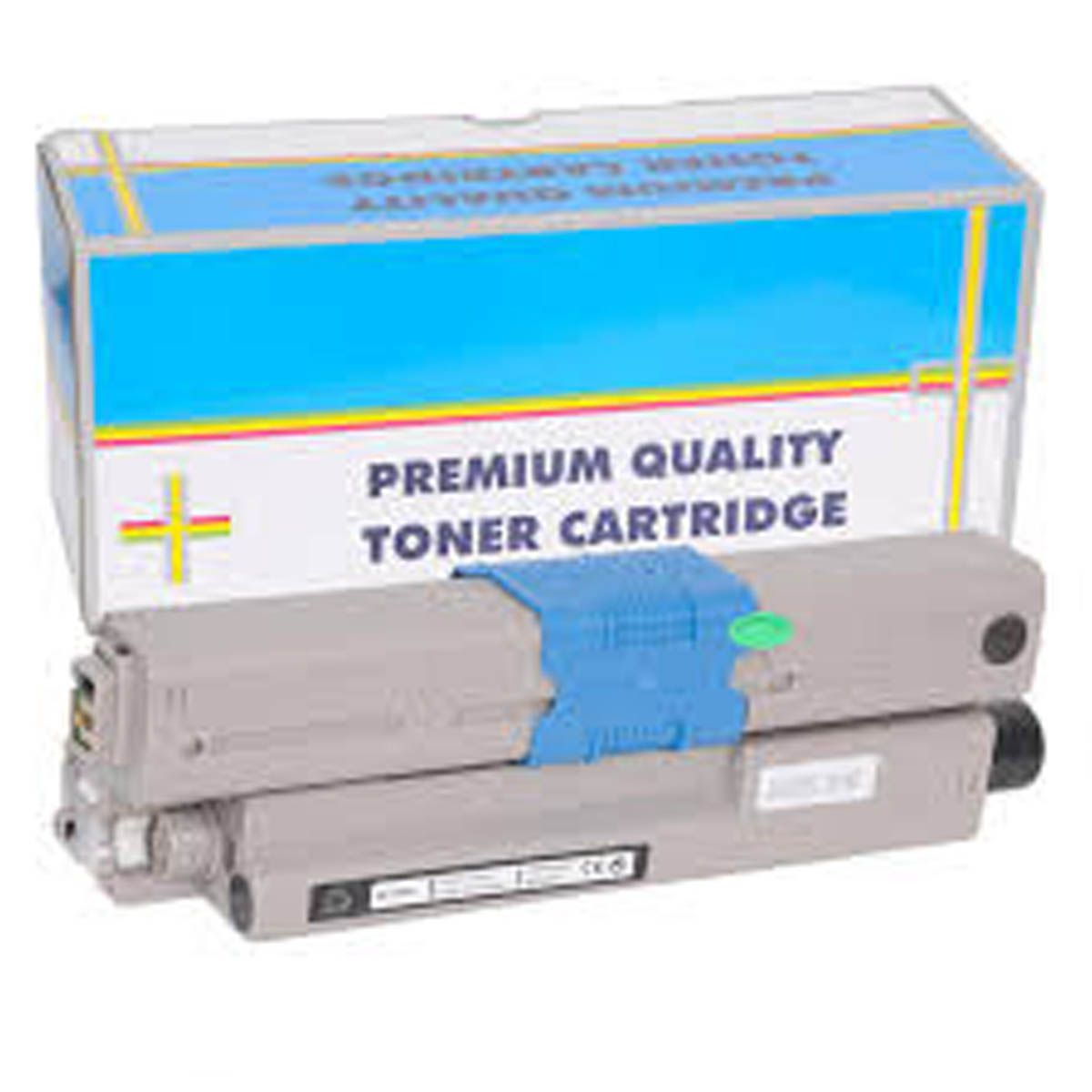Toner OKIDATA C330 C530 MC361 Preto Compativel