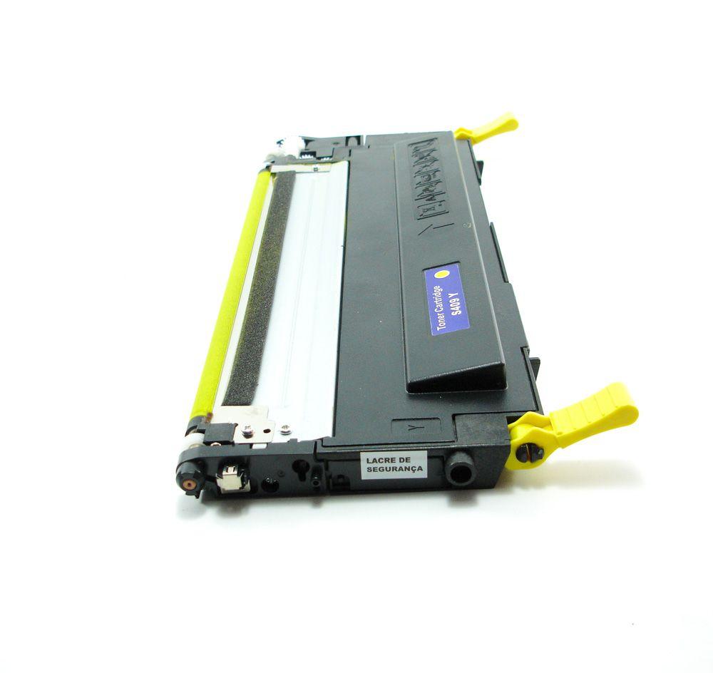 Toner Samsung CLT Y409S Amarelo - CLP310 CLP315 CLX3170 CLX3175 Compatível
