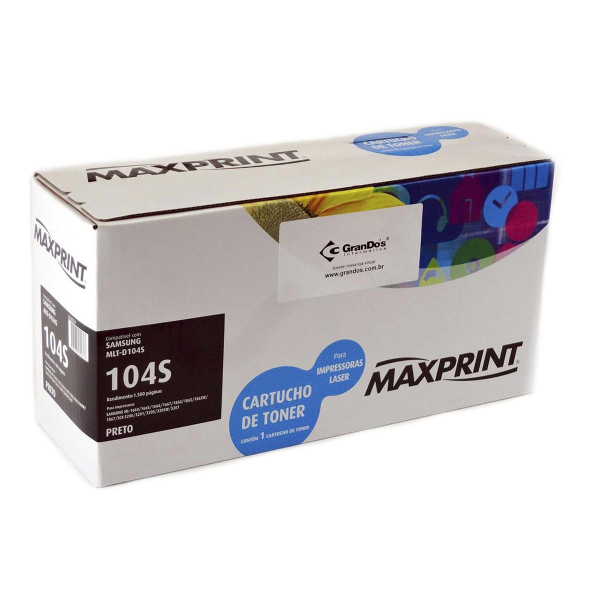 Toner Samsung D104S D104 104 - ML1665 ML1660 SCX3200 SCX3217 O1-8W4Z-2WJC
