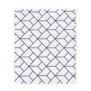 Lençol de cobrir mini cama 100% algodão, 120 x 180 cm cor Monochrome