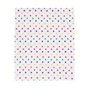 Lençol de cobrir solteiro, 100% algodão 140 x 220 cm cor Confete color