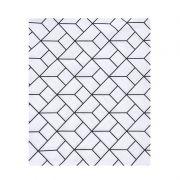 Lençol de cobrir solteiro, 100% algodão, 140 x 220 cm cor Monochrome