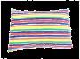Fronha avulsa berço tamanho 30 x 40 cm Listras color