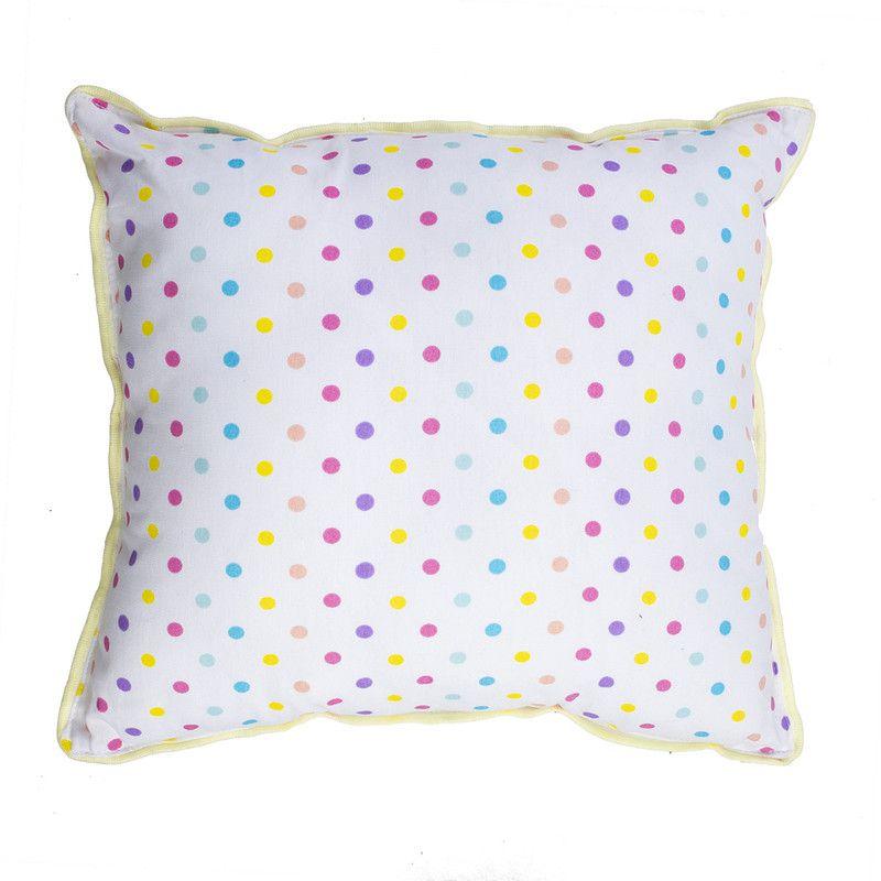 Almofada Infantil decorativa estampa Confete Candy  100% algodão
