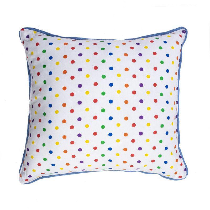 Almofada Infantil Confete Color 40 X 40 cm
