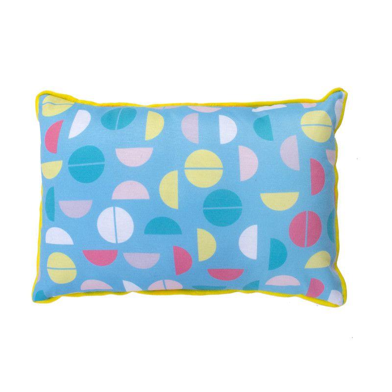 Almofada Infantil Estampa Colorball 20 X 28 cm  - Pomelo Decor