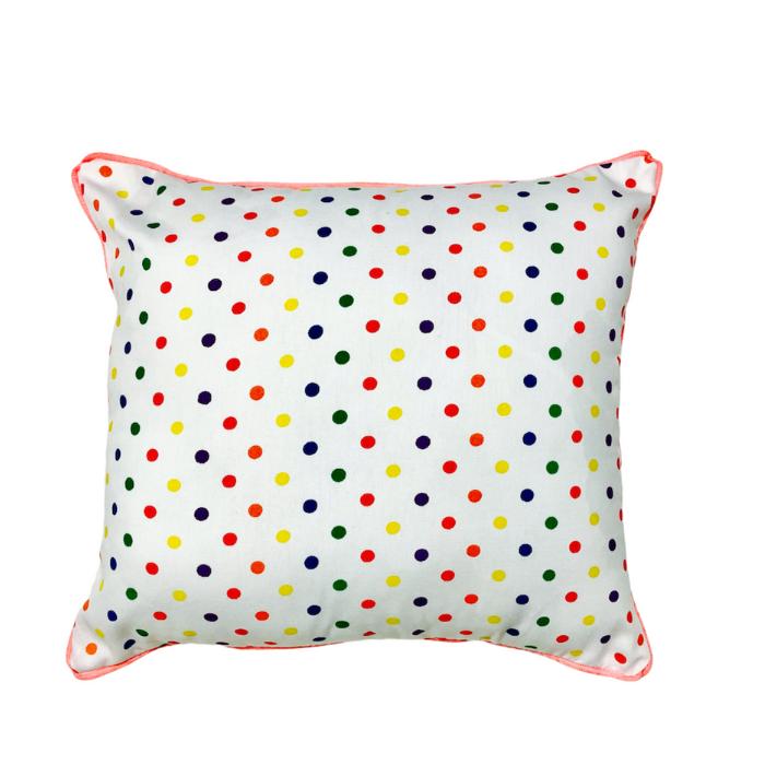 Almofada Infantil Confete Color 100% algodão