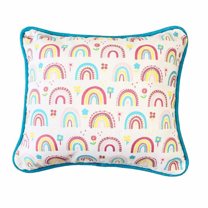 Almofada Infantil 100% algodão Arco íris candy