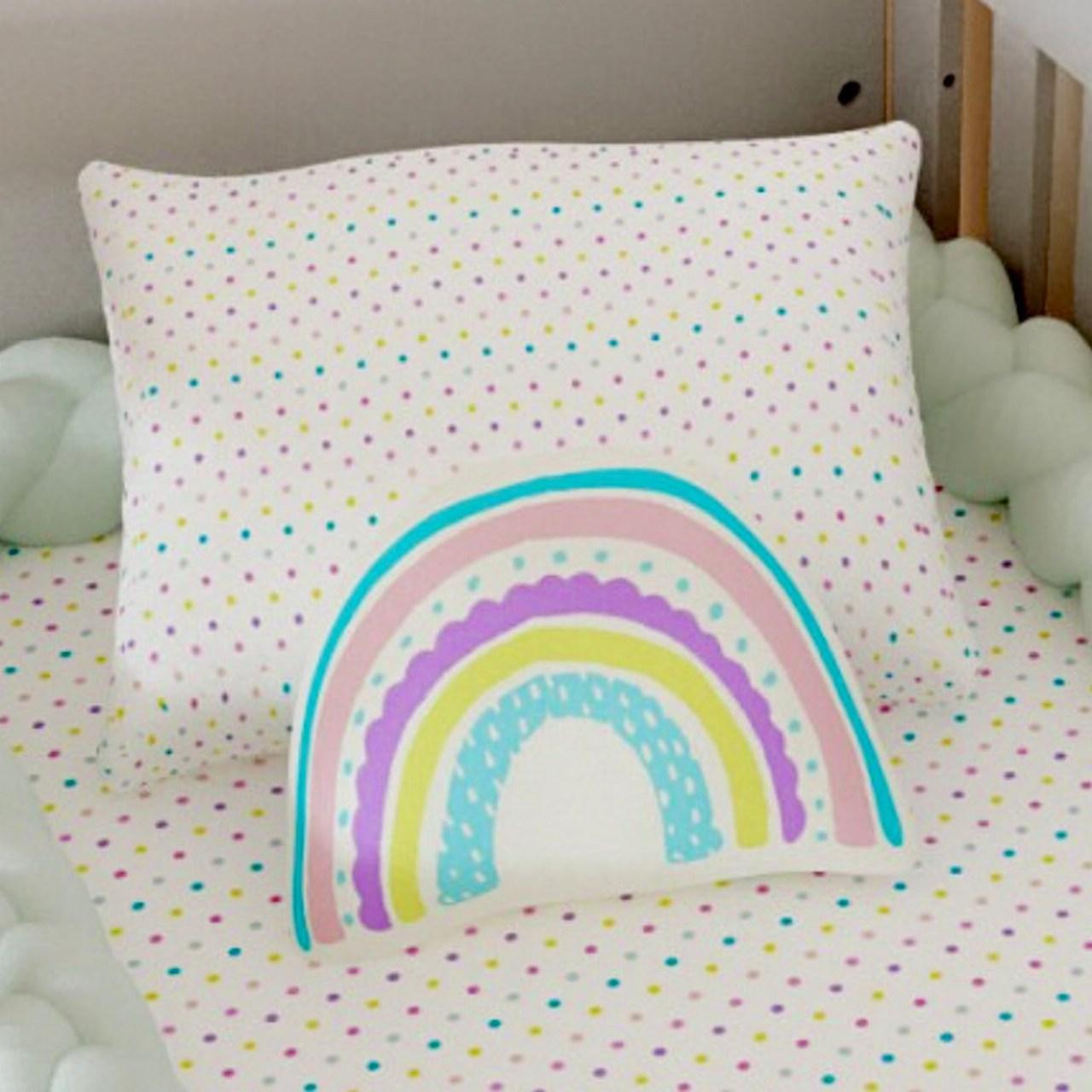 Almofada infantil toy arco íris candy :)
