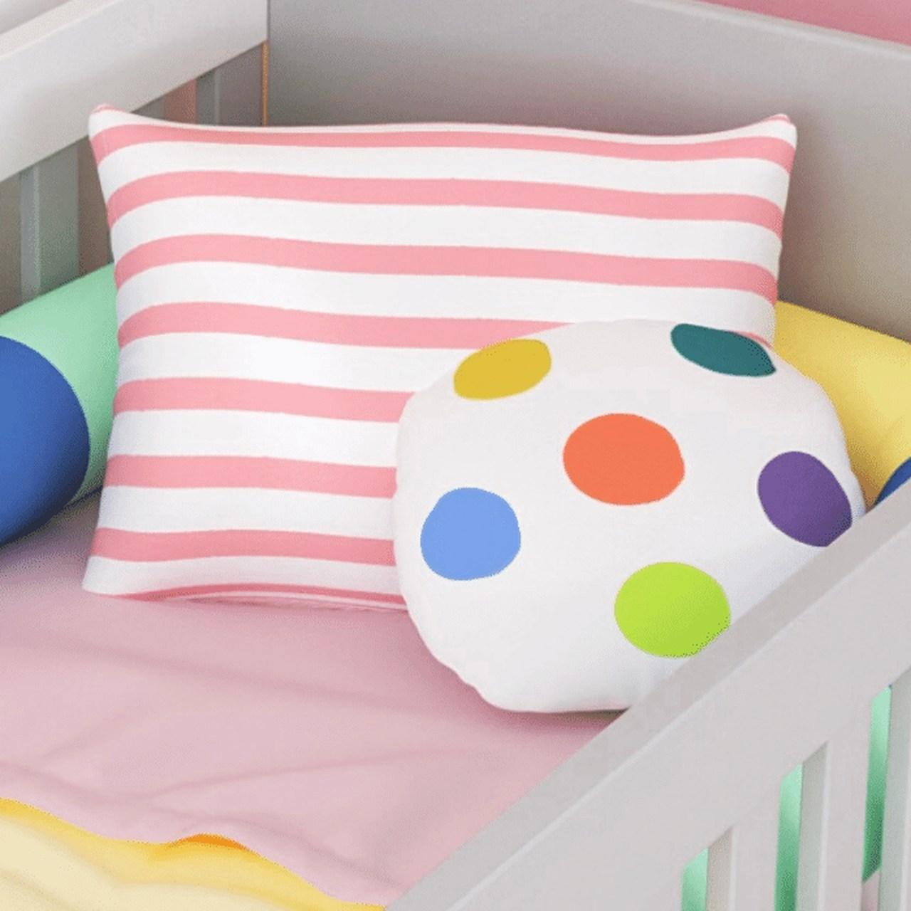 Almofada infantil toy bolas color