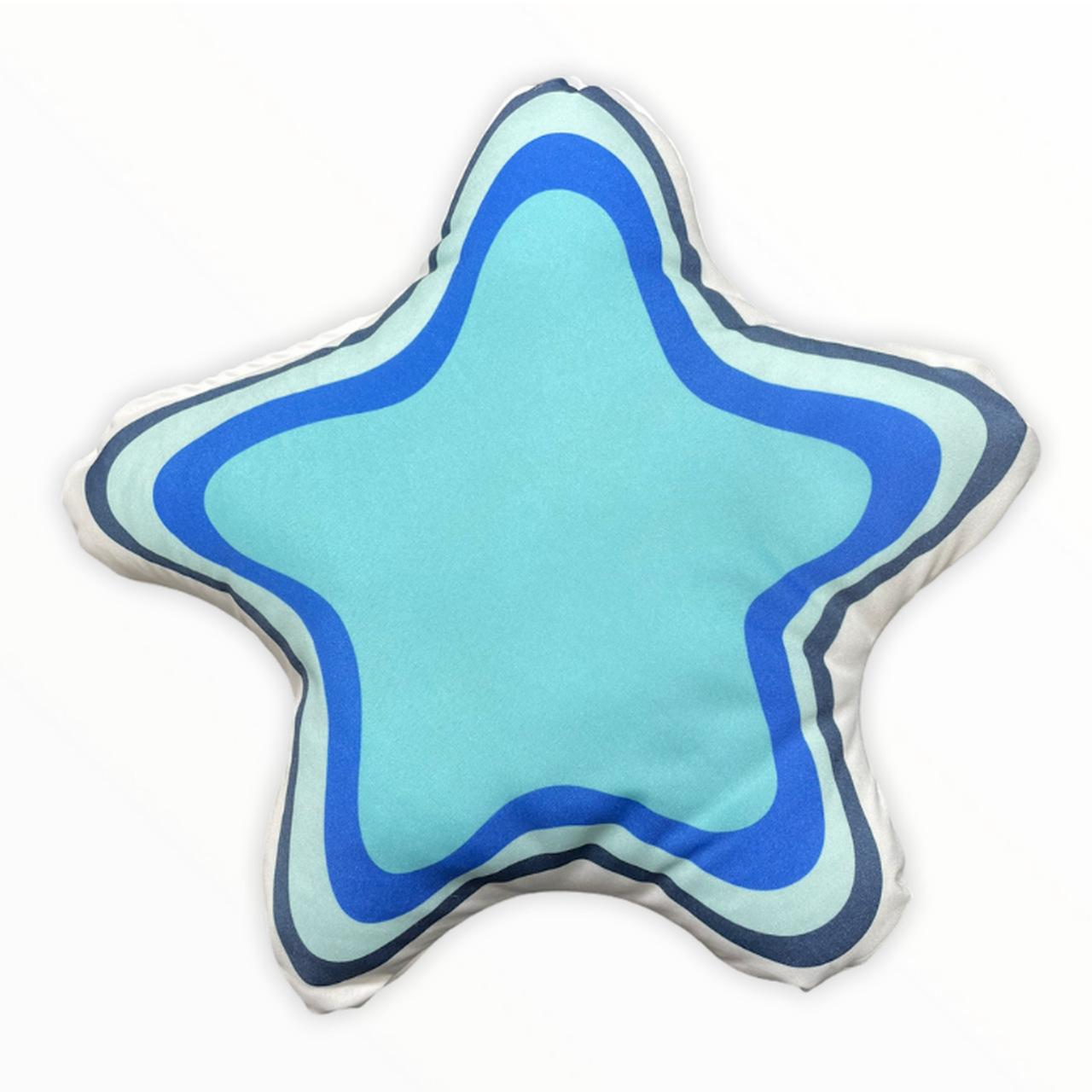 Almofada infantil toy estrelinha azul