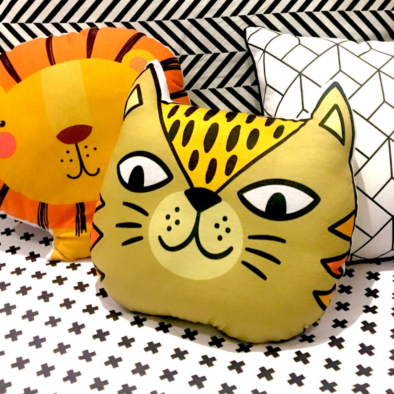 Almofada infantil toy Tigro