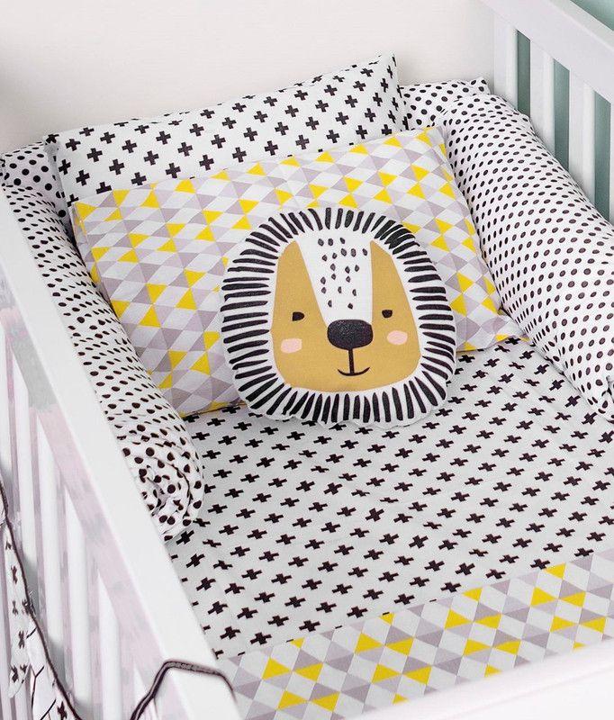 Almofada infantil toy leão Lion  - Pomelo Decor