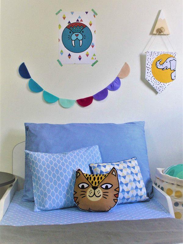 Almofada toy Tigro   - Pomelo Decor