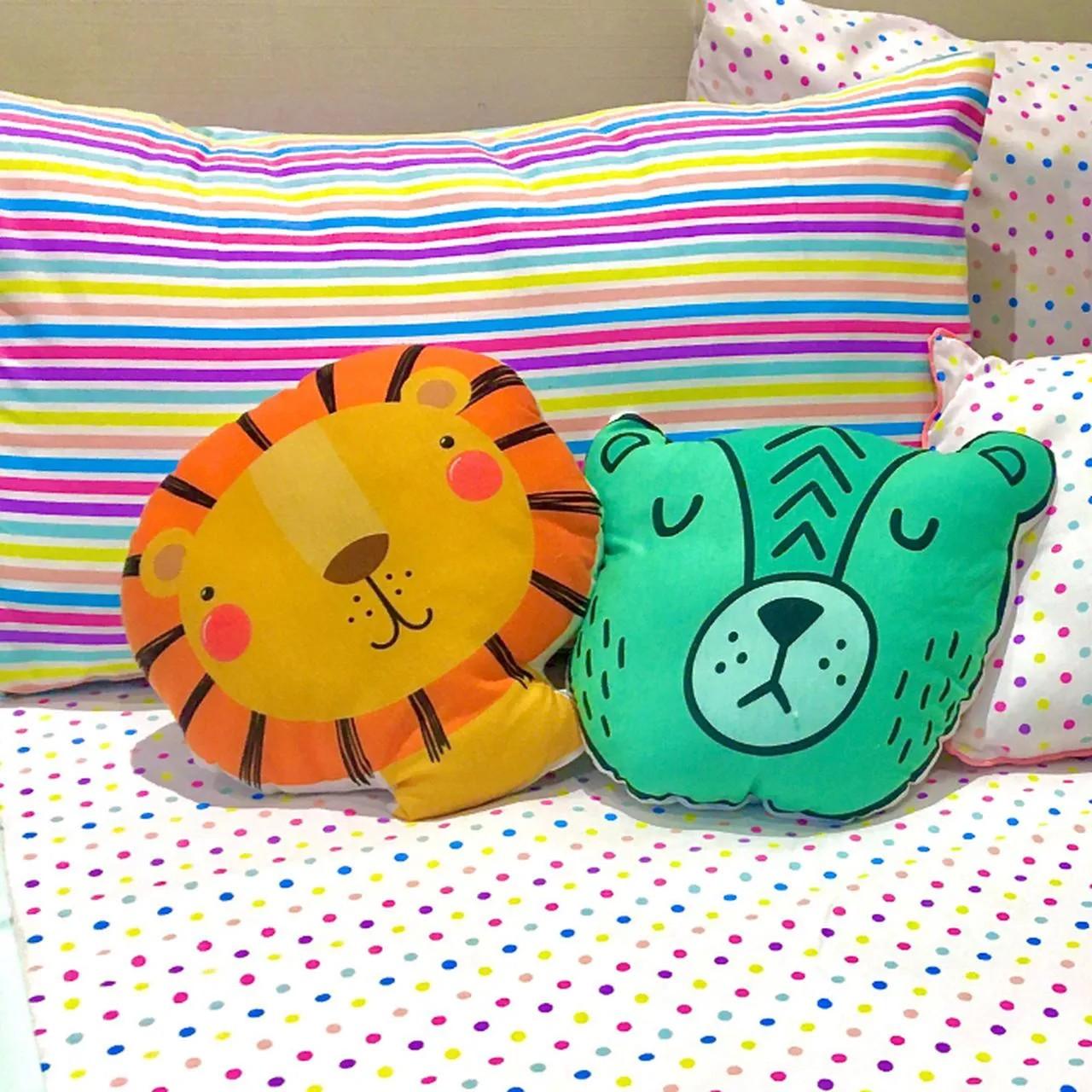 Almofada toy urso Soneca    - Pomelo Decor