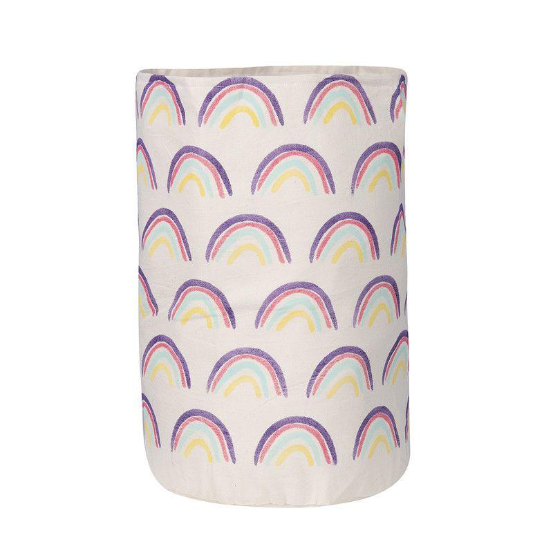 Cesto Organizador Infantil Arco Iris tam 53 x 32 cm