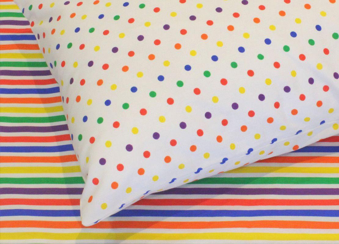 Fronha tamanho 50 x 70 cm Confete Color  - Pomelo Decor