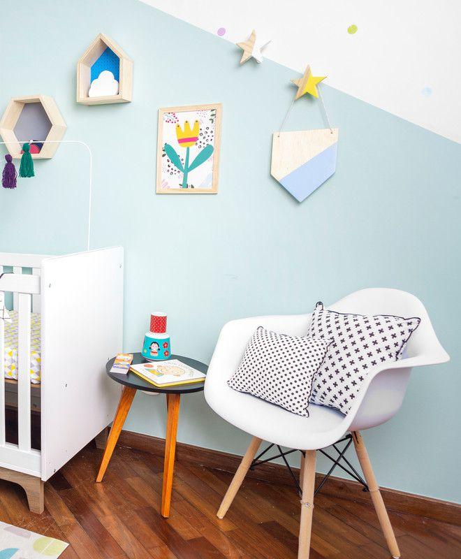 Gancho de parede cabideiro estrela 10 x 7 x 10 cm cor branco  - Pomelo Decor