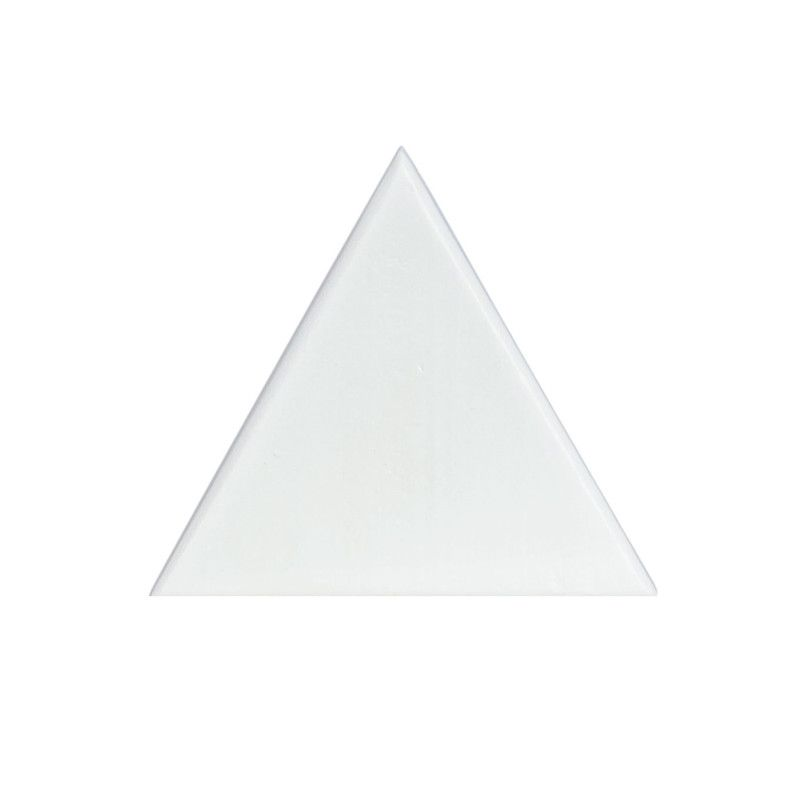 Gancho de parede cabideiro triangulo10 x 7 x 10 cm cor branco