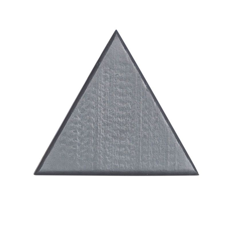 Gancho de parede cabideiro triangulo 10 x 7 x 10 cm cor preto