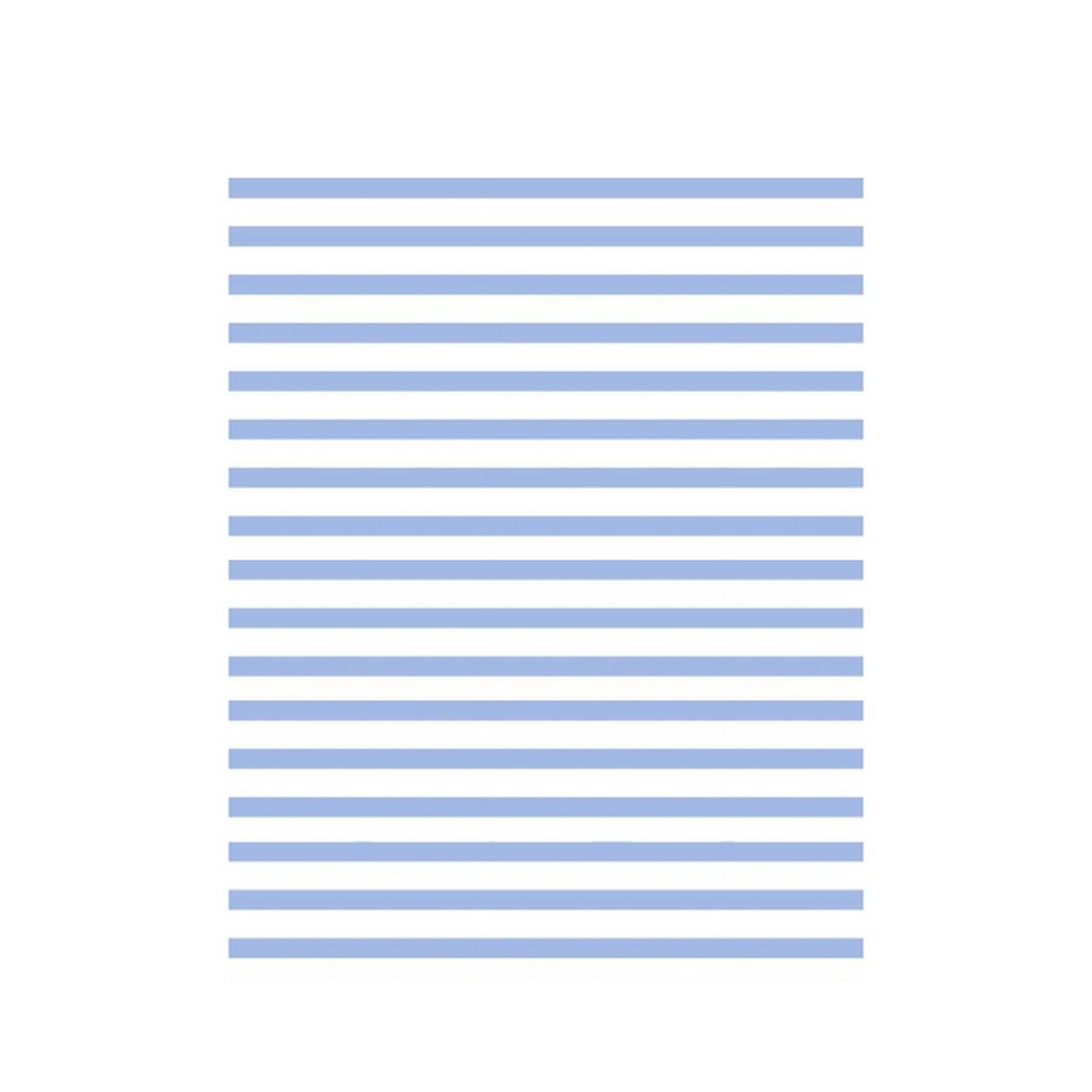 Jogo de lençol mini cama 100% algodão confete listras blue