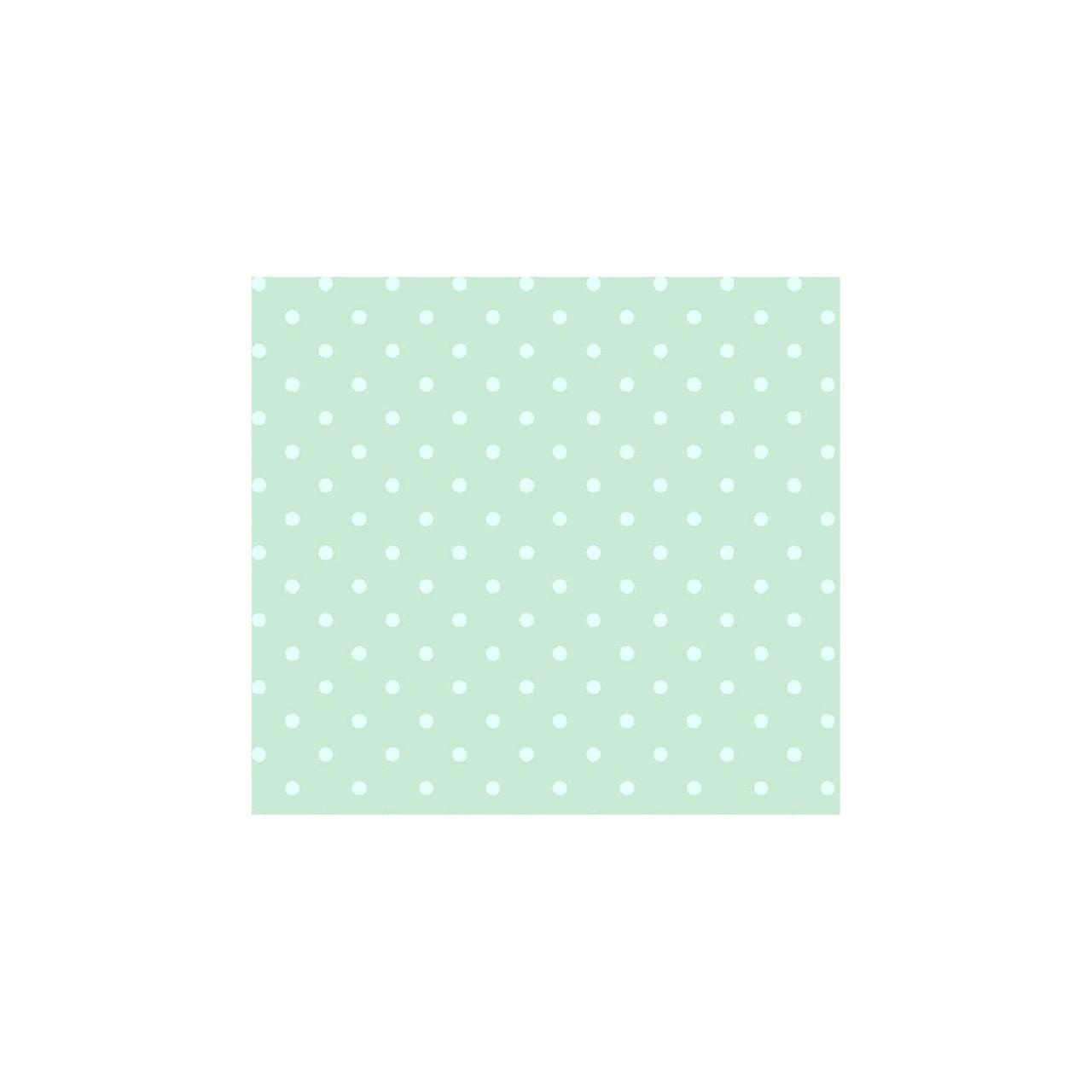 Jogo de lençol mini cama 100% algodão confete verde