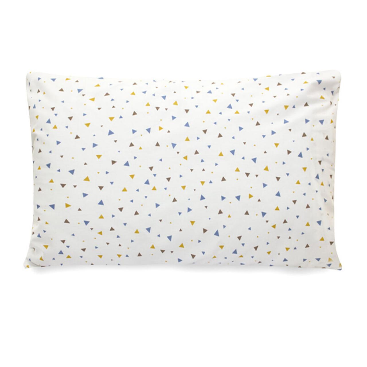 Jogo para mini cama  completo 100% algodão Triângulos