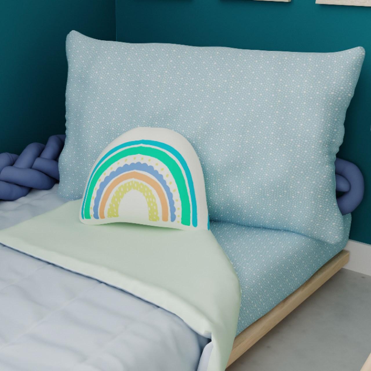 Jogo de lençol mini cama 100% Céu estrelado